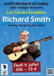 Concert Richard Smith (juillet 2017)