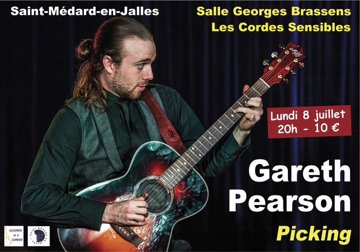 Affiche concert Gareth Pearson 2019