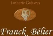 Logo luthier Franck BELIER
